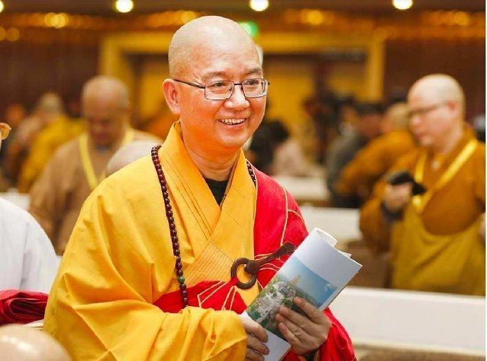 釋學誠是中國佛教協會會長,大陸佛教界一把手,因涉嫌性侵女弟子下台。 圖/取自香港...