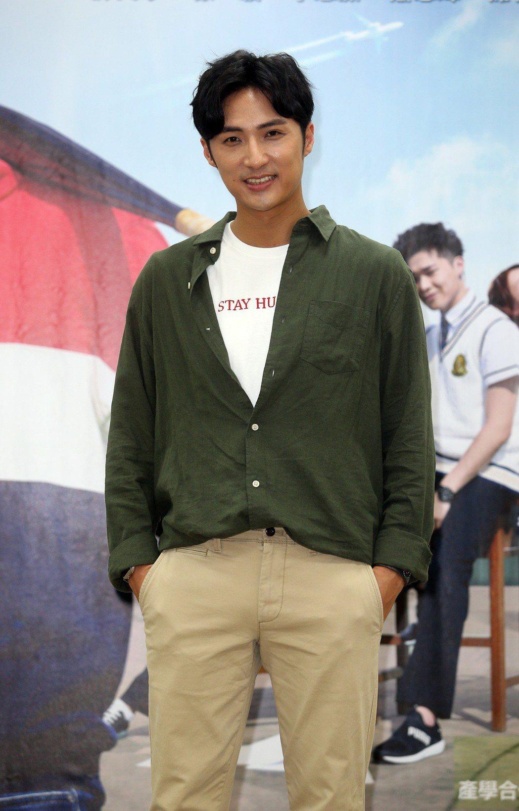 台視週日偶像劇《高校英雄傳》首映會,演員李運慶出席。記者曾吉松/攝影