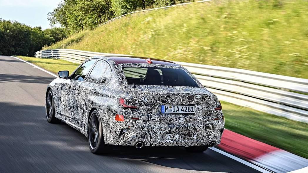 新世代BMW 3-Series預計將在巴黎車展正式亮相。 摘自BMW