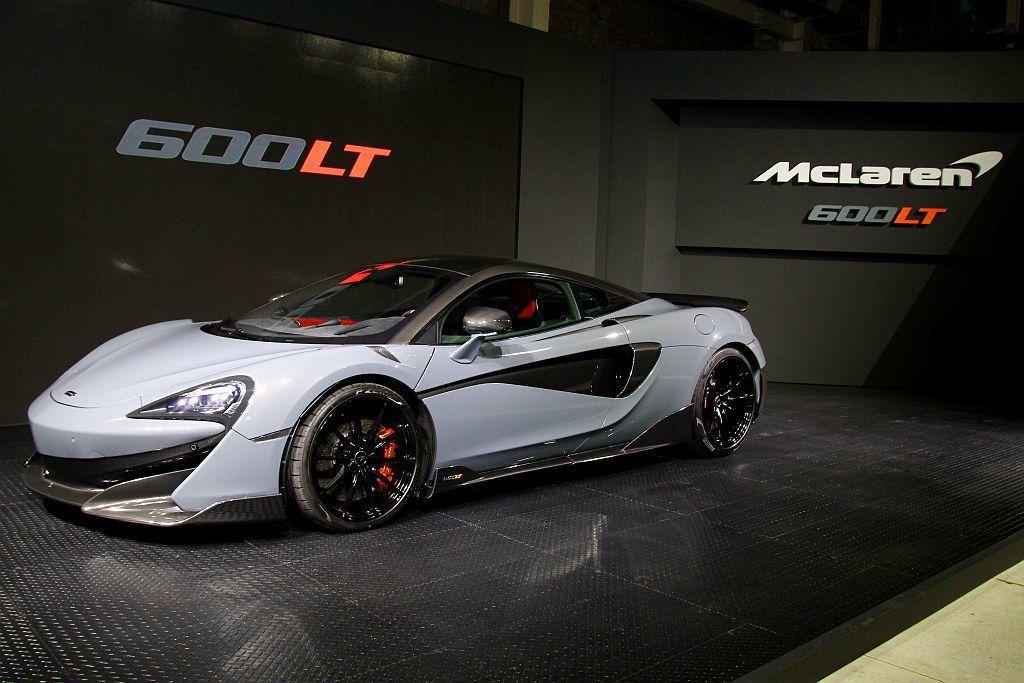 英國麥拉倫(McLaren)於6月底在線上發表全新「Long Tail」作品600LT,並於7月英國Goodwood速度嘉年華上公開亮相。 記者張振群/攝影