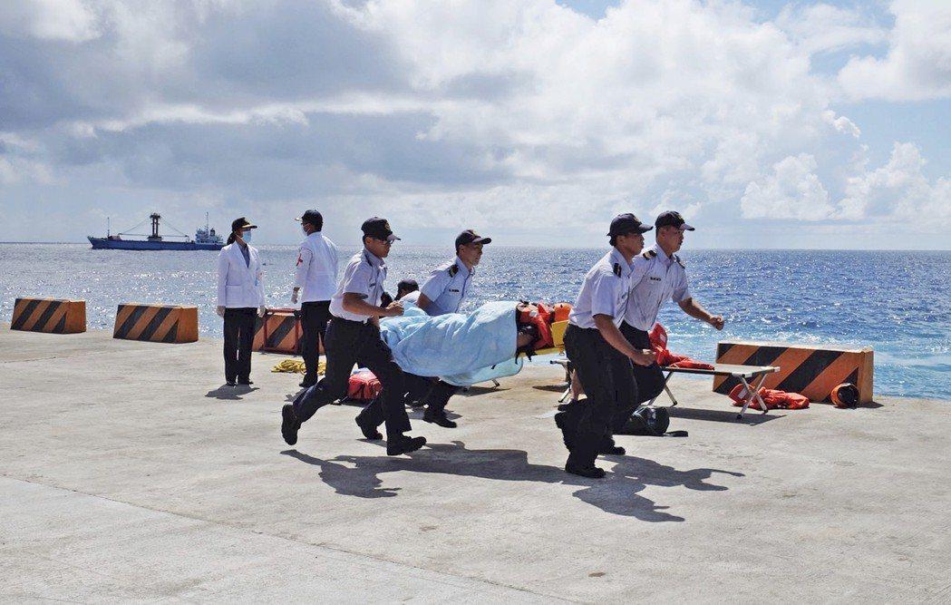 示意圖,非綠島遊客及醫護人員。 圖/美聯社