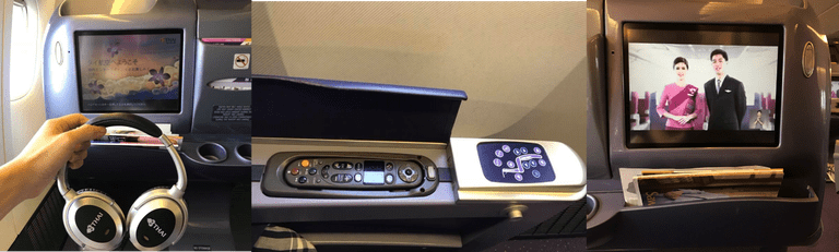 很舊的娛樂系統與控制器 圖文來自於:TripPlus