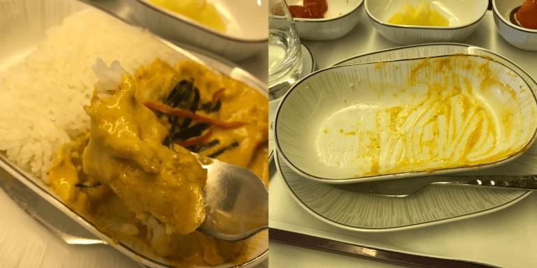 主餐好吃到一顆米和咖哩醬都不剩! 圖文來自於:TripPlus