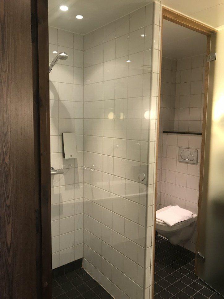乾濕分離的衛浴設備,其實整個浴室空間真的不小 圖文來自於:TripPlus