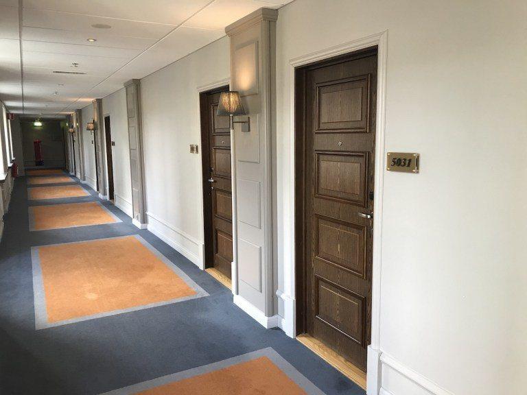 低樓層部分,就是延續舊建築迴廊 圖文來自於:TripPlus