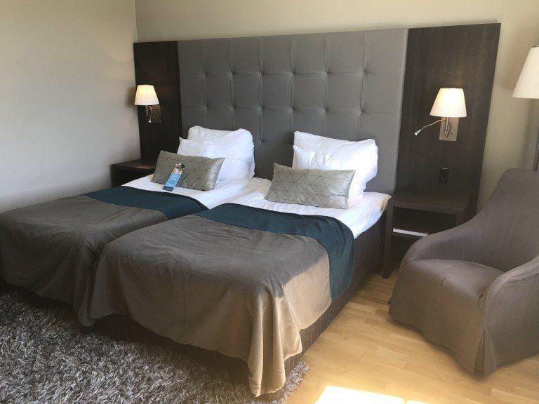 Double Bed的房型,搭配床單顏色,就是扎扎實實的北歐風 圖文來自於:Tr...