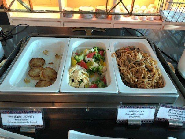 也有幾個素食選項,鮮蔬集錦色彩豐富口感清爽 圖文來自於:TripPlus