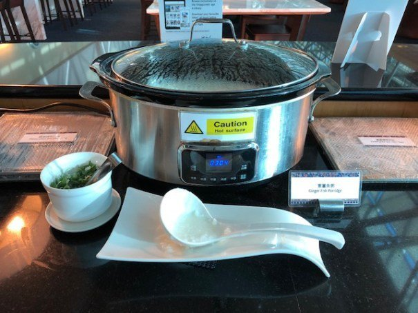 餐飲區亮點一:蔥薑魚粥 圖文來自於:TripPlus