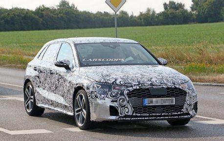 全新Audi A3 Sportback 首度偽裝現身