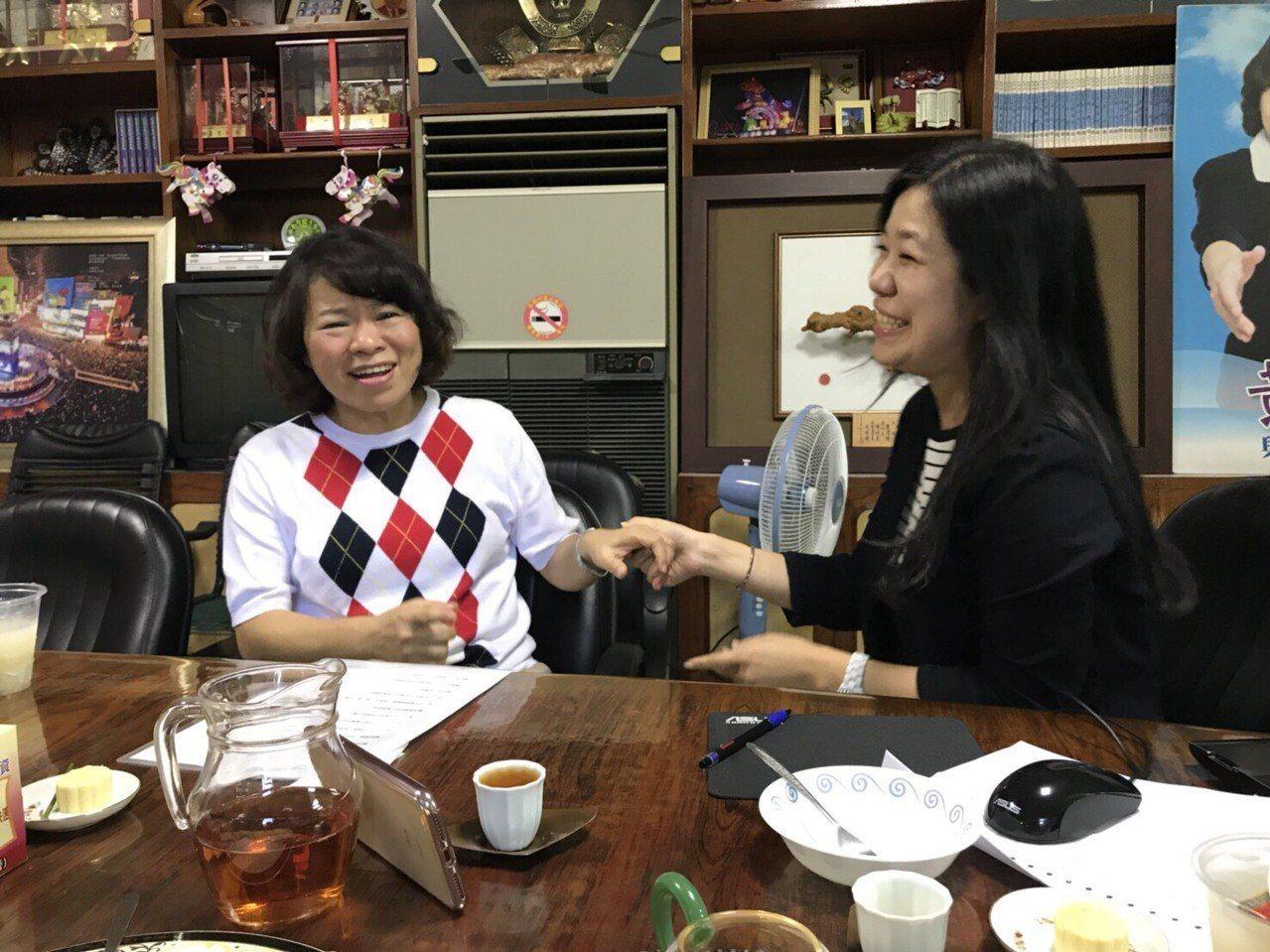 國民黨嘉義市長參選人黃敏惠接受udn快問快答挑戰。記者王慧瑛、姜宜菁 /攝影