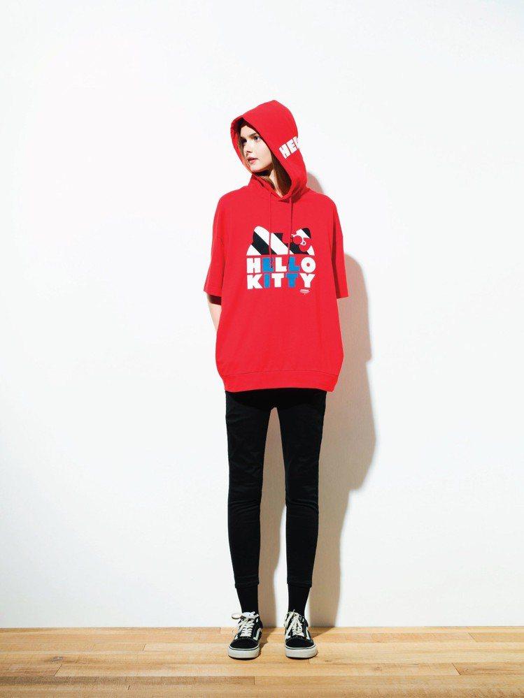:CHOCOOLATE和Hello Kitty推出合作系列服飾,把可愛感與品牌經...
