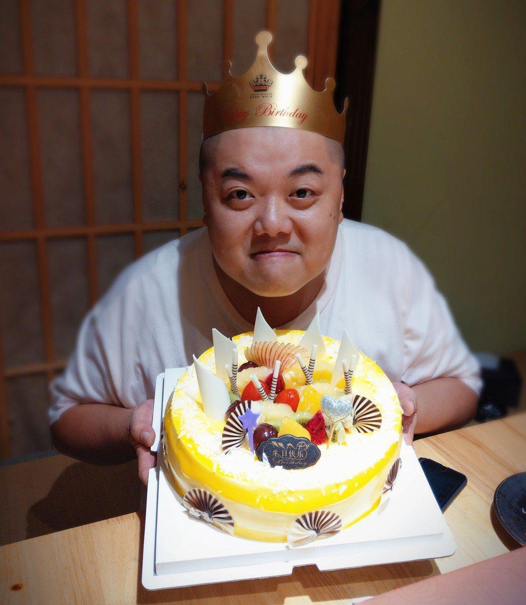 林子聰度過42歲生日。圖/艾迪昇提供