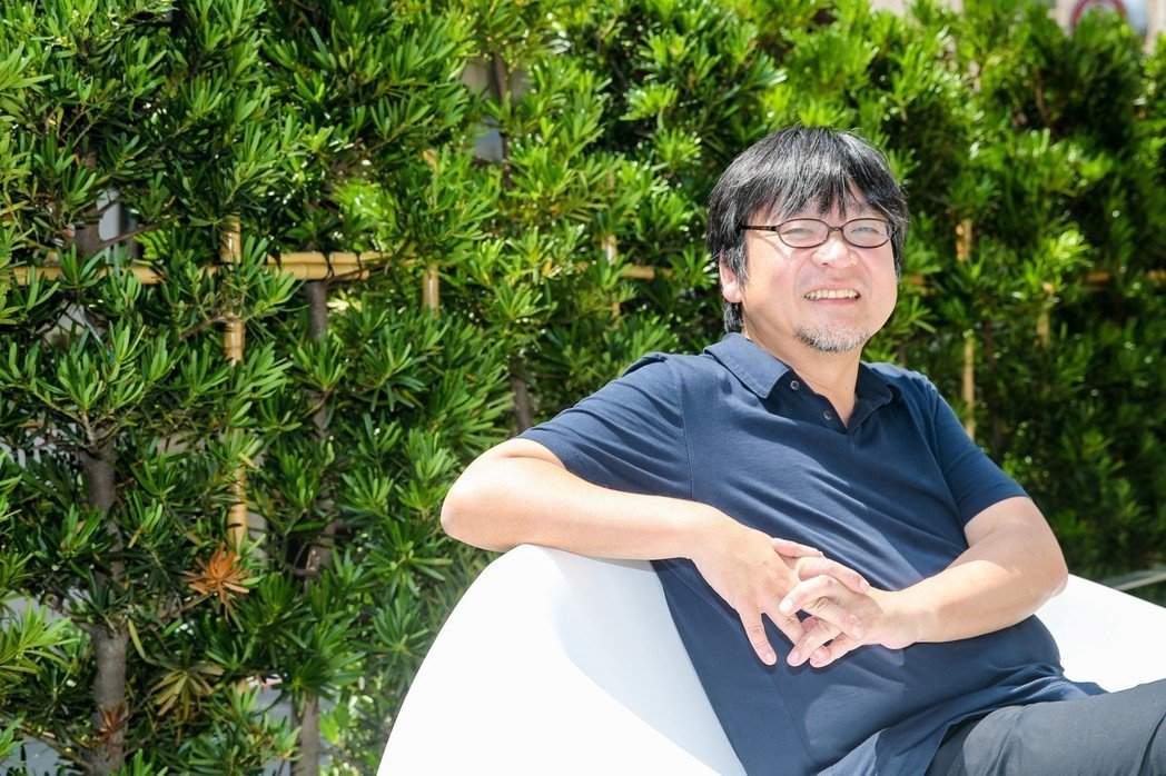專訪「未來的未來」動畫電影導演細田守。記者鄭清元/攝影