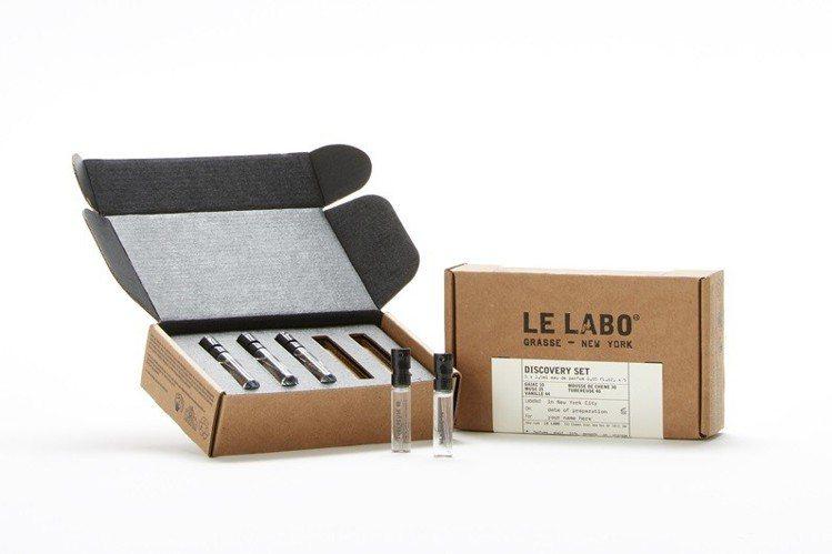 LE LABO城市限定系列體驗組1.5ml X 5售價2,000元。圖/10/1...