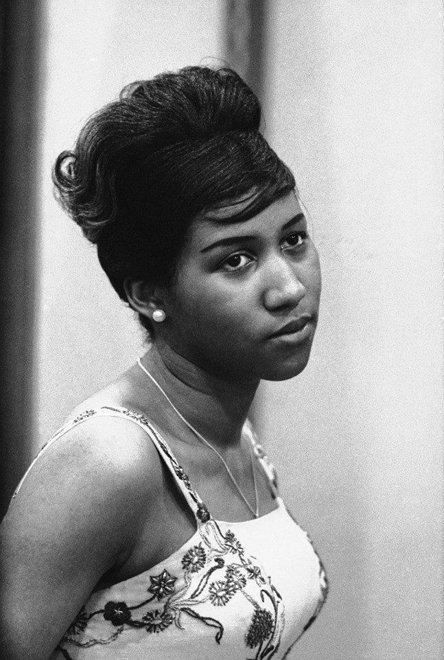 艾瑞莎富蘭克林(Aretha Franklin)。圖/擷自臉書