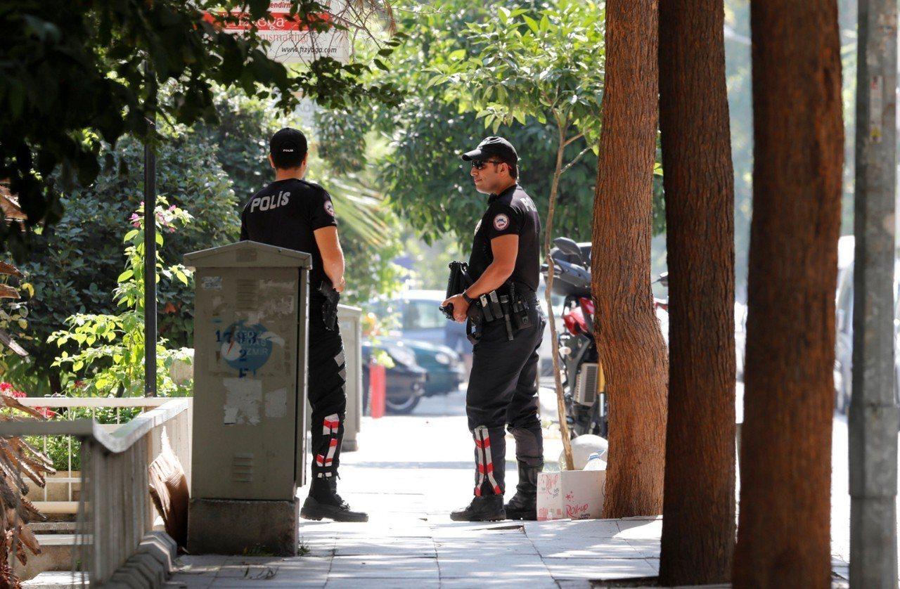 土耳其法院裁定布朗森(Andrew Brunson)仍維持居家軟禁。圖為布朗森住...
