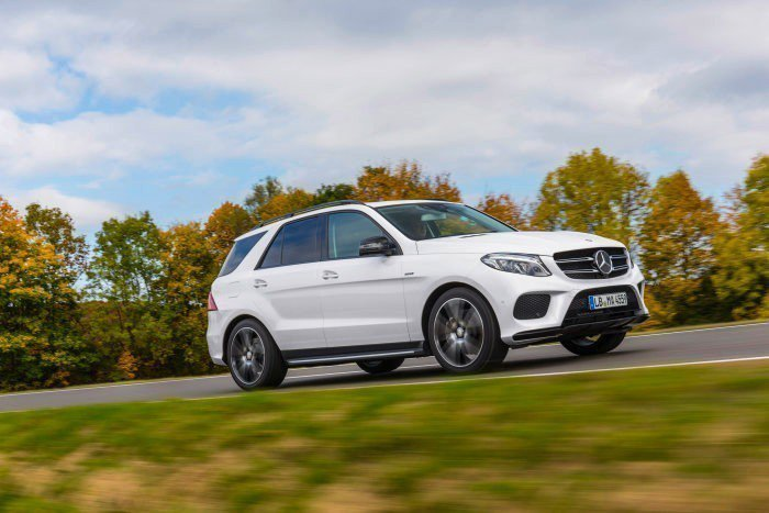 現行版Mercedes-Benz GLE。 摘自Mercedes-Benz