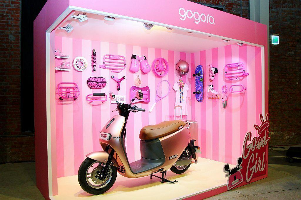 Gogoro在8月18至19日,於華山文創園區西一館將開放消費者免費參觀,共有7...