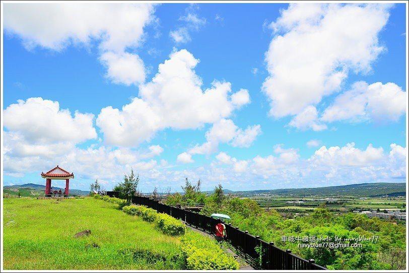 圖/當白雲飄進藍天