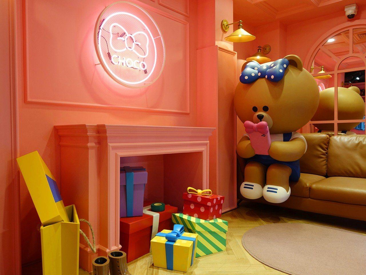 熊大妹妹CHOCO的房間。記者張芳瑜/攝影