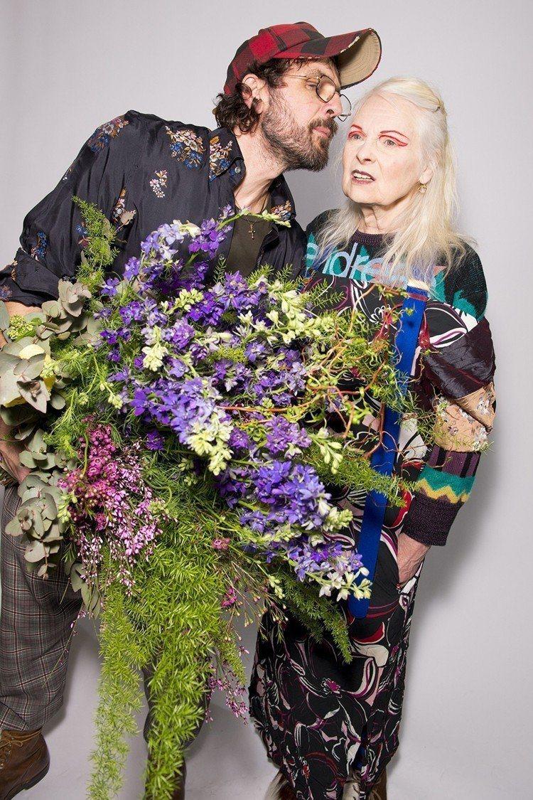 Andreas Kronthaler與Vivienne Westwood。圖/V...