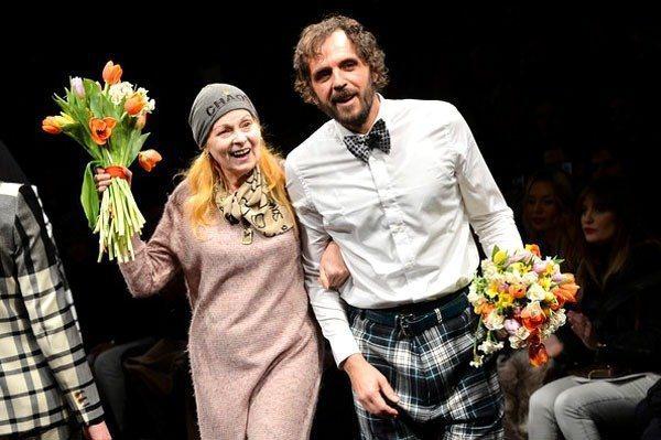 Andreas Kronthaler與Vivienne Westwood。圖/摘...