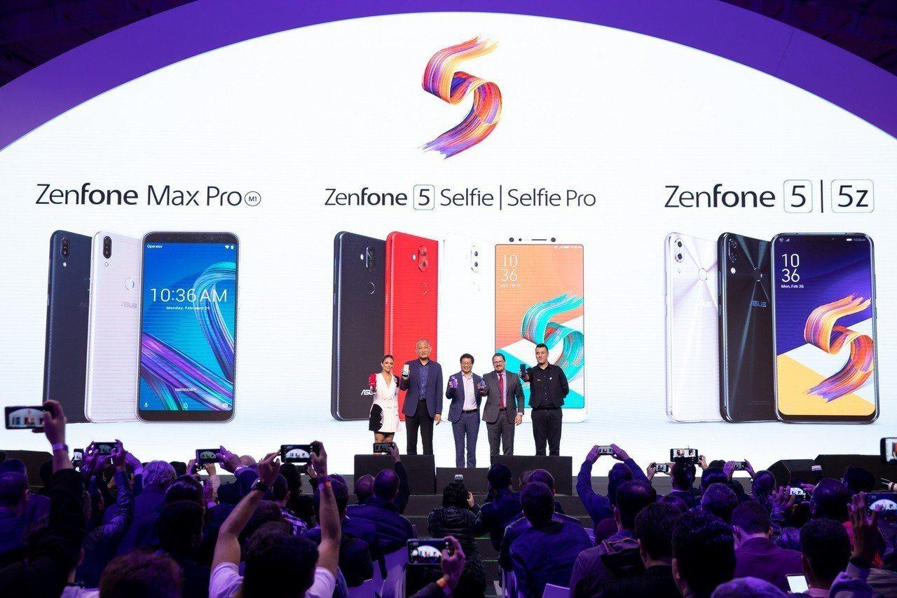 華碩執行長沈振來領軍前進巴西聖保羅,宣布華碩ZenFone5全系列手機搶攻中南美...