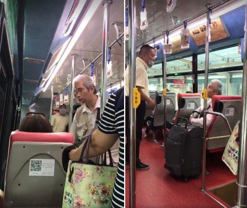 大南客運一輛公車本月14日,發生乘客咆嘯遭司機趕下車的情況。圖/翻攝自臉書「爆怨...