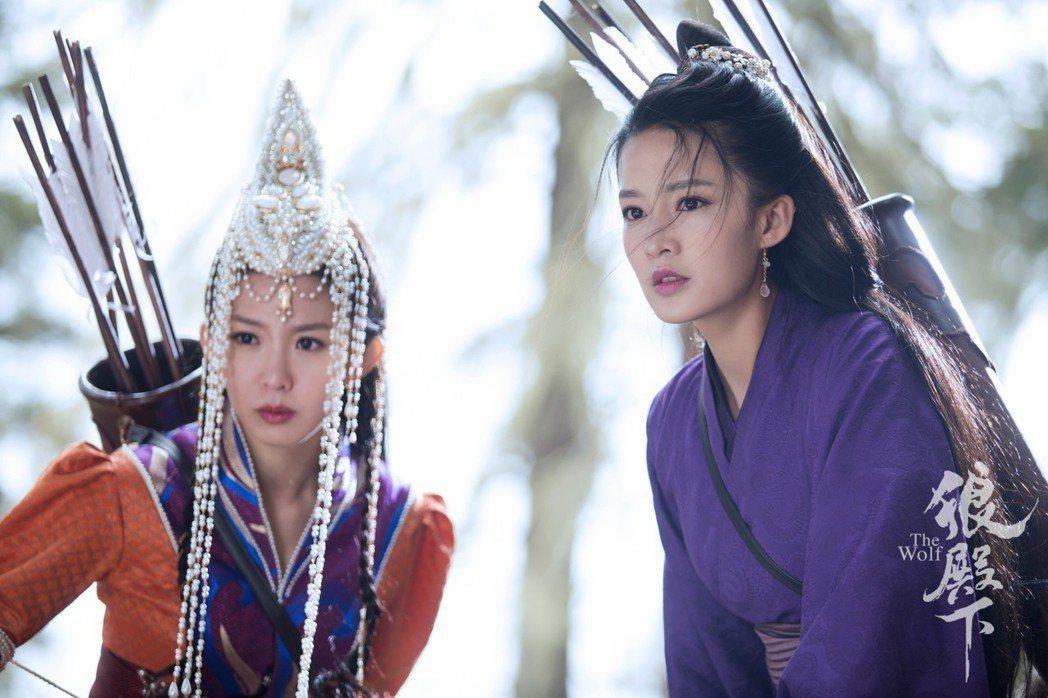 郭書瑤(左)與李沁。圖/京騰娛樂提供