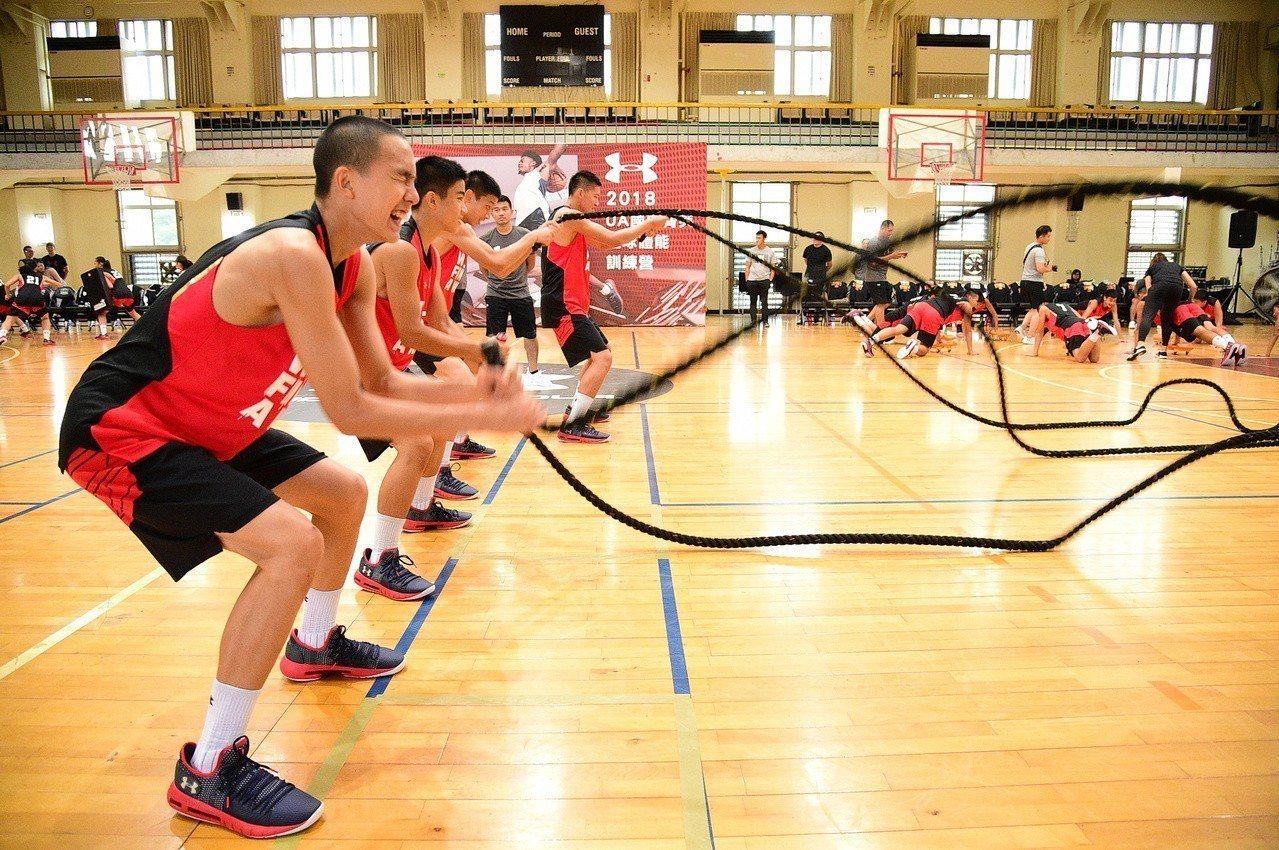 UA國中菁英籃球體能訓練營,透過運動原理與科學化數據的結合,為球員打造黃金時間的...
