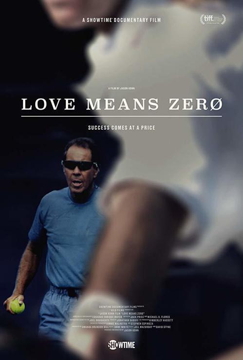 紀錄片「Love Means Zero」劇照。 圖/取自IMDB網站