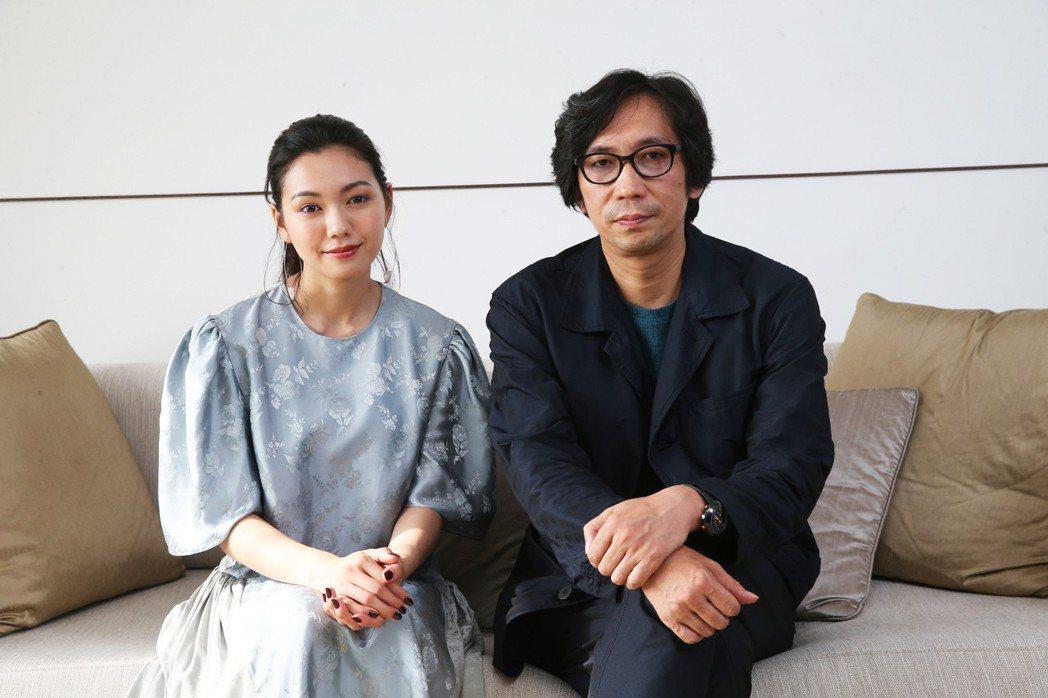 二階堂富美與導演行定勳專訪。記者徐兆玄/攝影