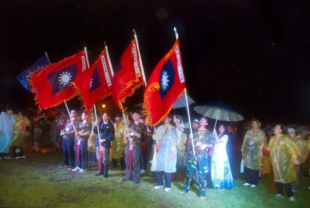 金管處規畫在8月23日晚上辦理「走進八二三」夜行軍活動。圖/金管處提供