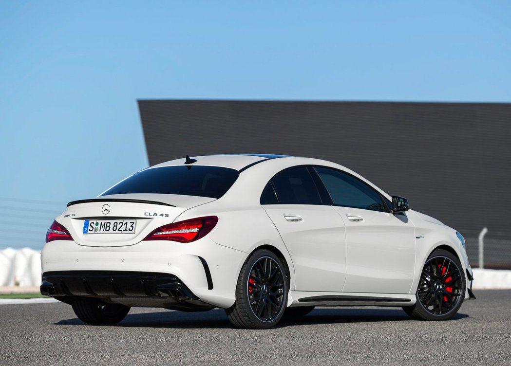 現行款CLA45 AMG。 摘自Mercedes