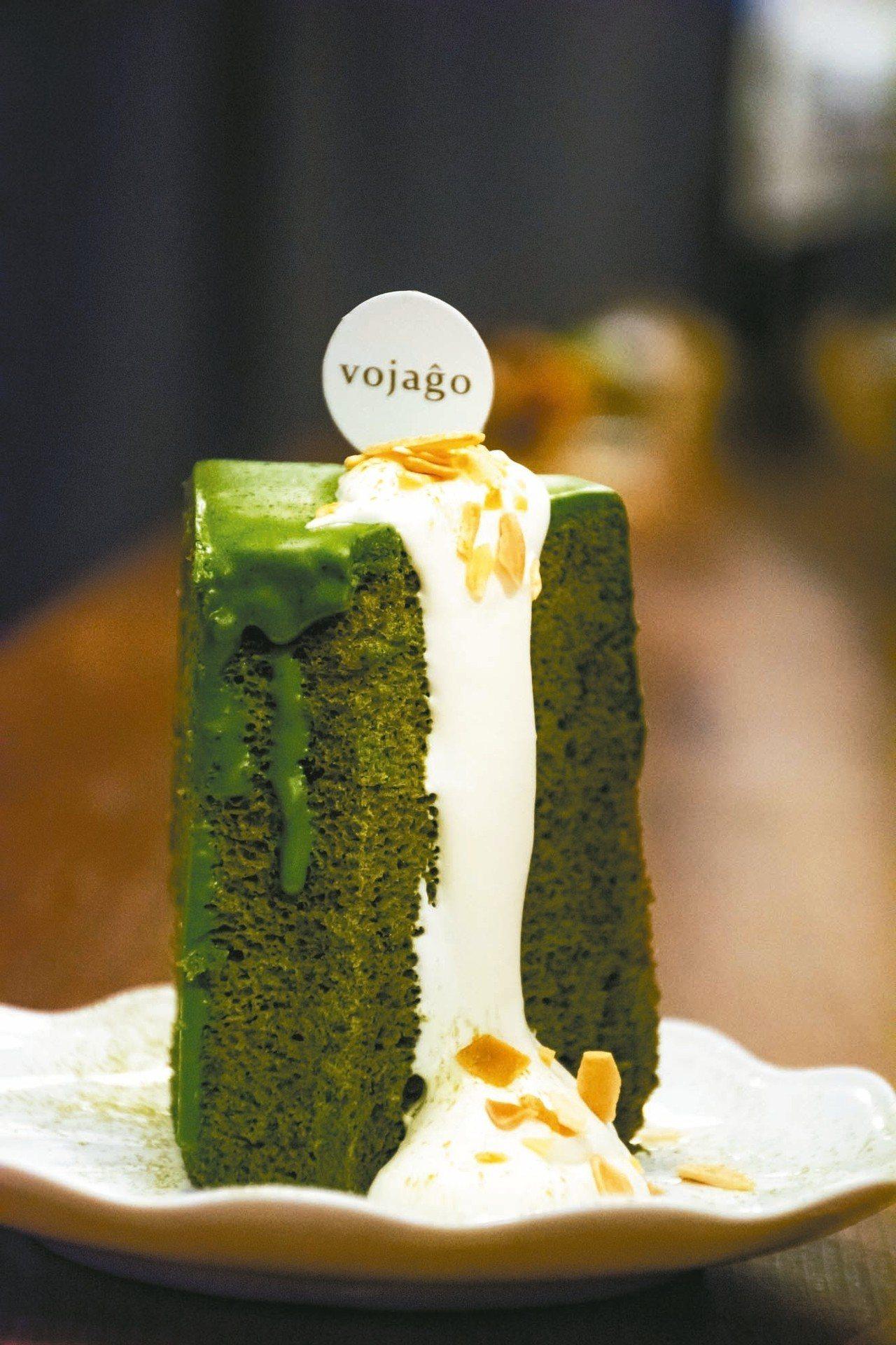 抹茶戚風蛋糕 圖/韓化宇