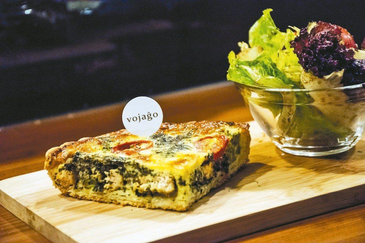 塔香雞肉鹹派 圖/韓化宇