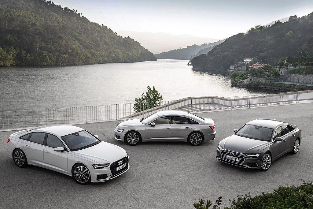 新世代Audi A6/A7 Sportback,先獲得馬力更充沛且節能表現更好的新2.0 TDI渦輪柴油引擎。 圖/Audi提供