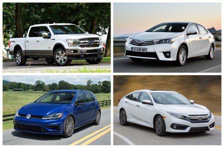 上半年全球銷量出爐 霸主並非Toyota Corolla!