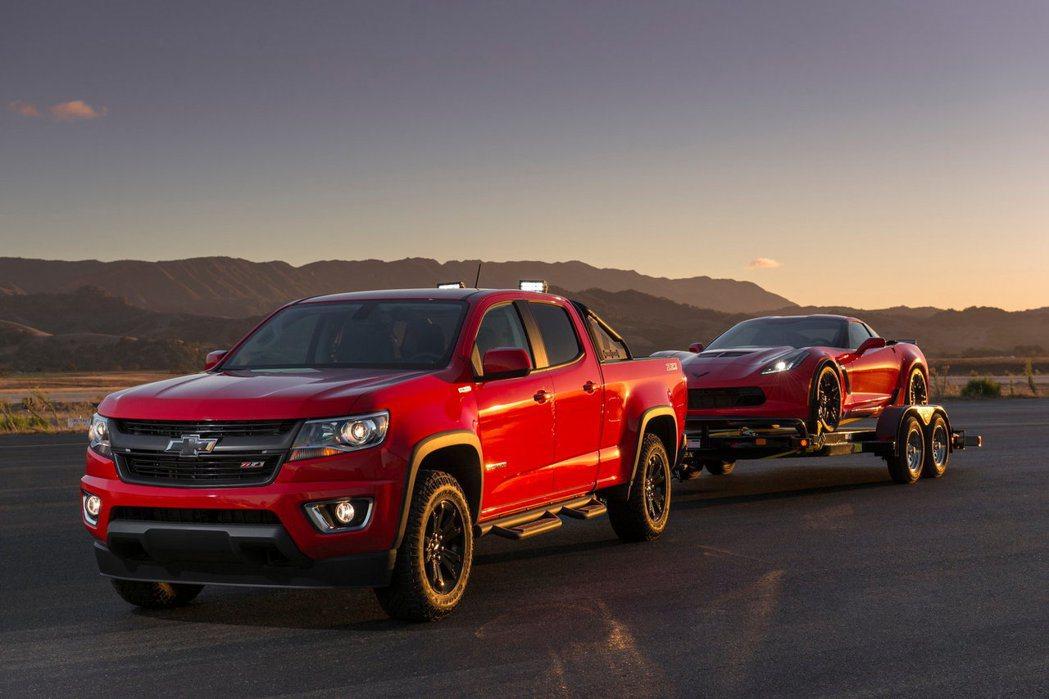 皮卡在美國的銷量依然有著不錯的表現。圖為Chevrolet Colorado。 ...