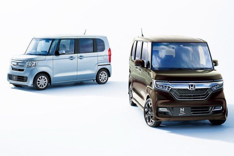 K-Car在日本相當受到歡迎。圖為Honda N-BOX。 摘自Honda