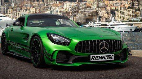 影/Renntech改裝AMG GT R刷新紐柏林最速賓士紀錄!
