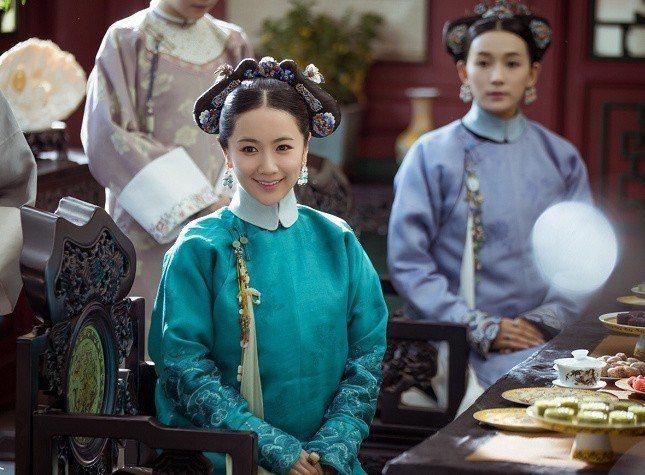 李春嬡飾演的舒嬪。圖/摘自微博