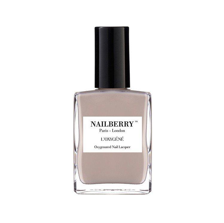 NAILBERRY透氧柔光絲絨指甲油「寧靜的綻放」,售價720元。圖/NAILB...