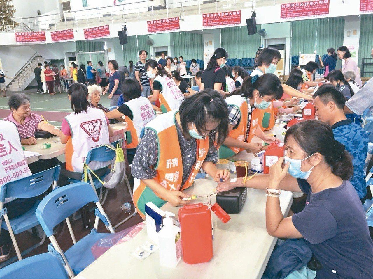 台南市民20歲起免費篩檢 拚2030年消滅肝病
