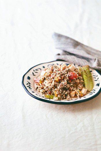 黎麥雞胸優格沙拉 照片/幸福文化提供