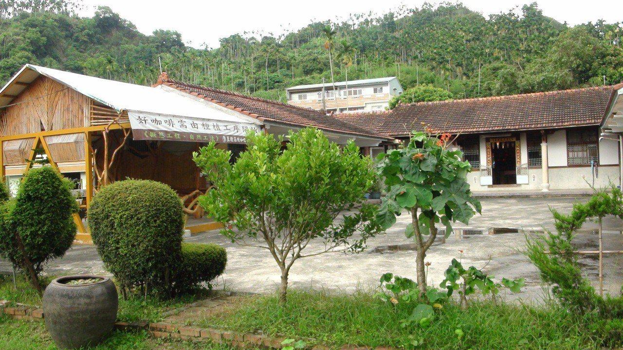 豆讚咖啡在中埔鄉三層村。記者謝恩得/攝影
