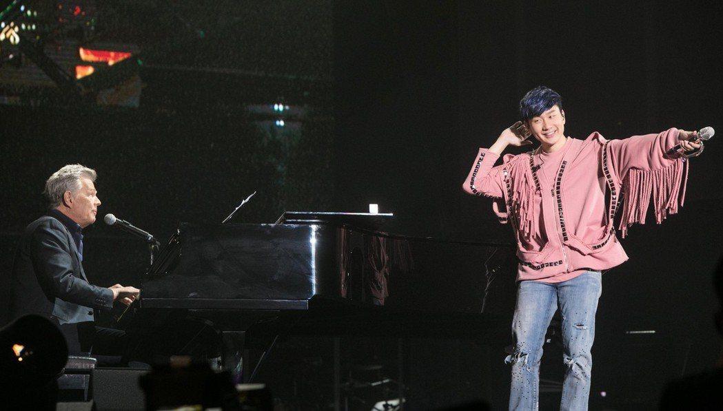 林俊傑在新加坡完成第3場演唱會。圖/JFJ Productions提供