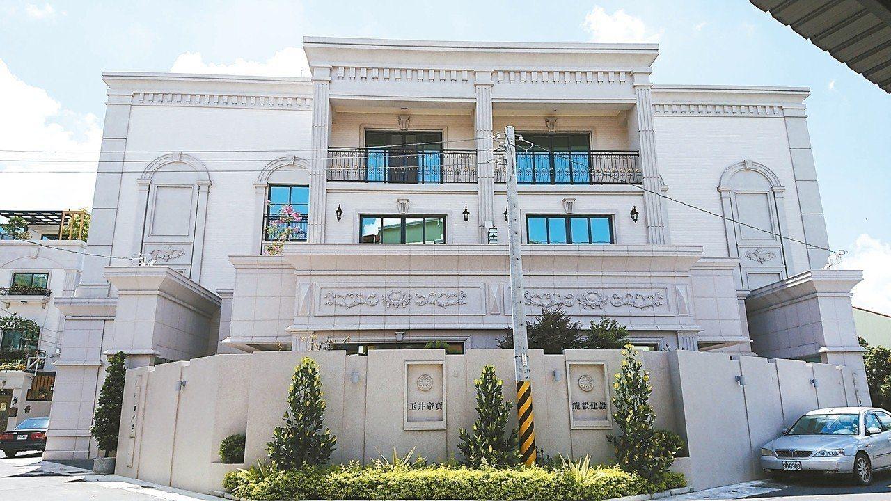 台南玉井區首見建商投資興建高價位透天住宅。 圖/本報資料照片
