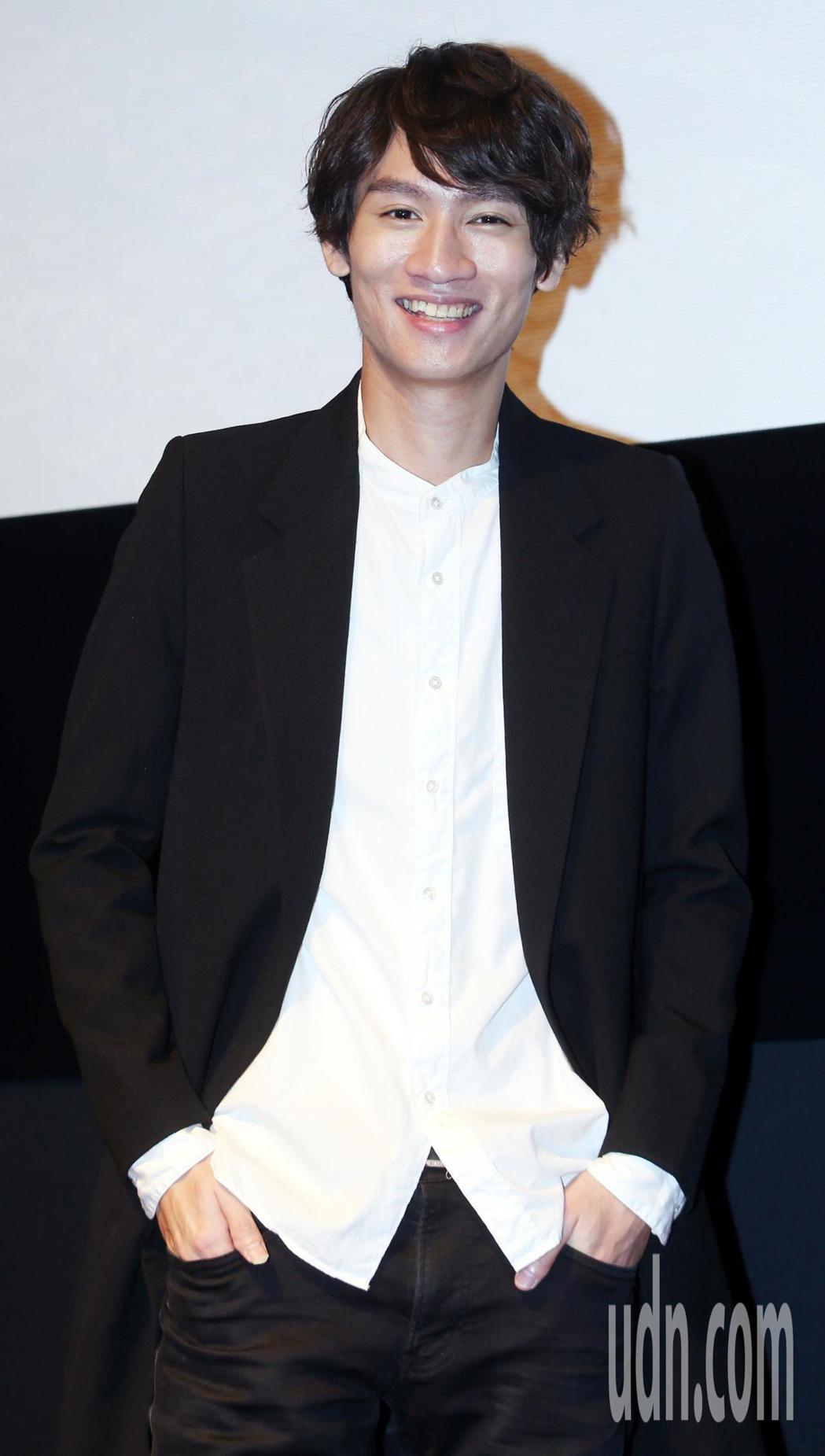 柯智棠於光點華山電影院舉行「吟遊」微電影特映會。記者侯永全/攝影