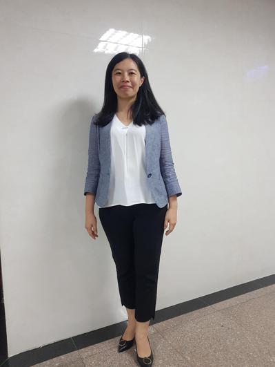 北檢首位女襄閱主任檢察官陳佳秀。 記者張宏業/攝影